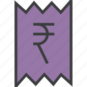 bill, business, finance, invoice, rupee, trade, statement
