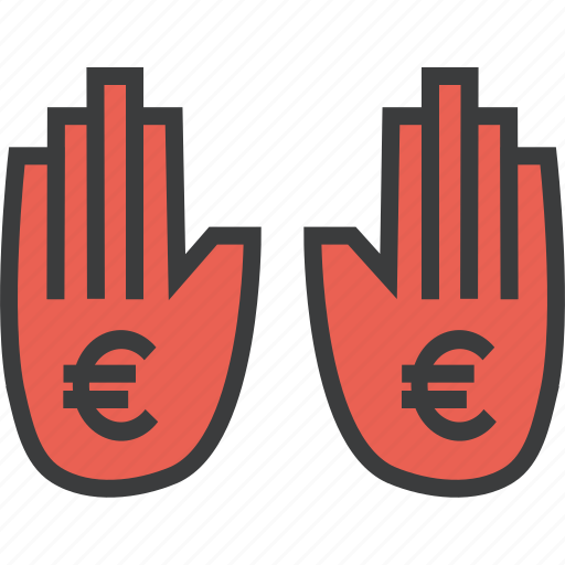 business, euro, halt, payment, stop, trade, transaction icon