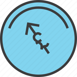 account, balance, dashboard, indicator, money, pound icon