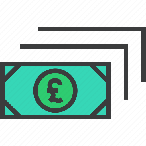 business, cash, currency, finance, money, payment, pound icon