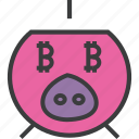 bank, banking, digital, guardar, piggy, save, savings, virtual icon
