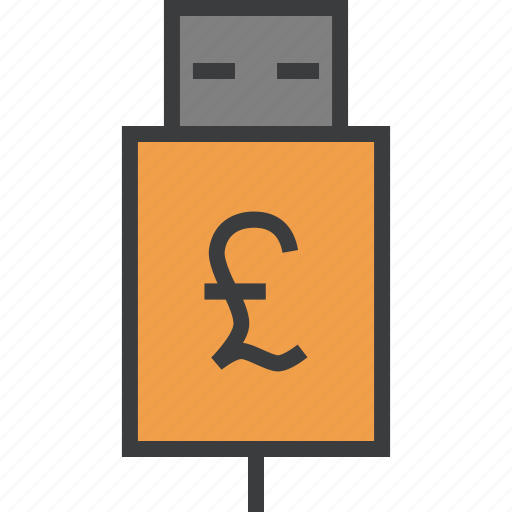 account, banking, charge, connect, interest, pound, recharge icon