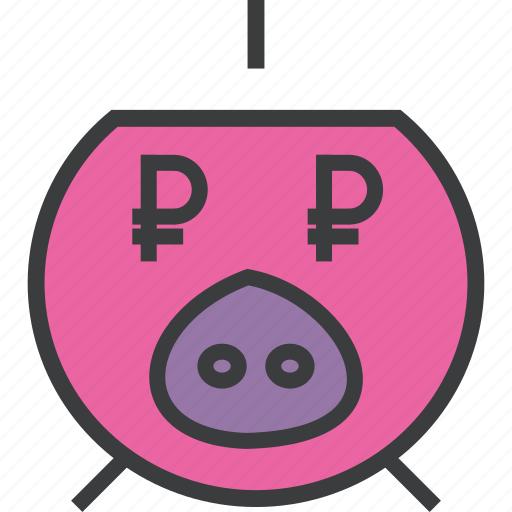 bank, banking, business, finance, pig, piggy, savings icon