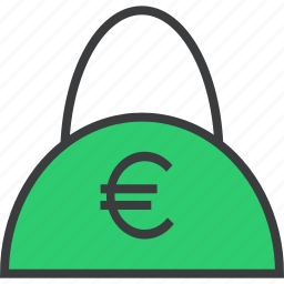 bag, balance, cash, commerce, finance, shopping, trade icon