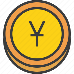 banking, chinese, coin, currency, finance, trade, yuan icon