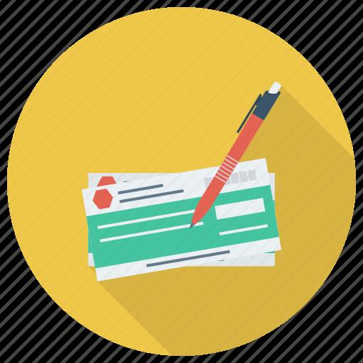 bankcheque, banking, chequebook, finance, money, payment, ukcheque icon