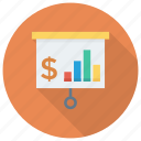 business, chart, graph, presentation, report, statistics icon