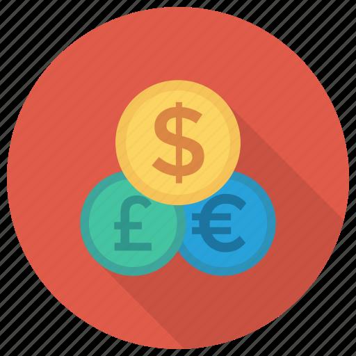 business, cash, currency, currencyexchange, dollar, finance, moneyexchange icon
