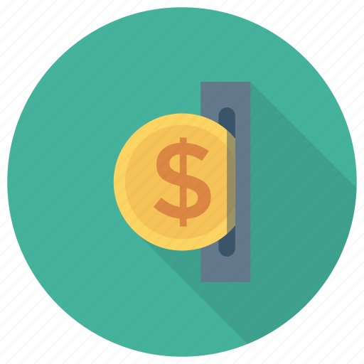 Atm, cash, currency, dollar, finance, money icon - Download on Iconfinder