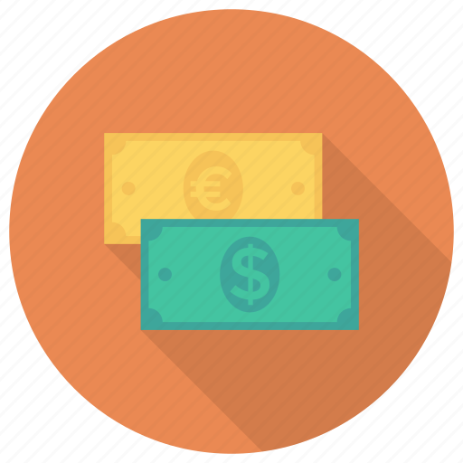 cash, currency, dollar, finance, foreign, money, payment icon