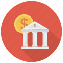 bank, banker, banking, bankvault, business, finance, money icon