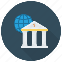 banking, business, cash, finance, global, international, money icon
