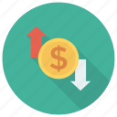 card, cash, credit, finance, input, money, output icon