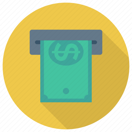 Atm, cash, currency, dollar, finance, money, payment icon - Download on Iconfinder