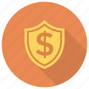 banking, finance, lock, money, protection, security icon