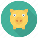 bank, finance, money, pig, piggy, piggybank icon
