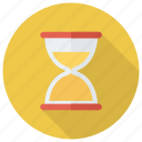clock, countdown, hourglass, magnifying, search, time icon