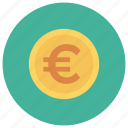 currency, euro, eurocoin, euromoney, eurosign, finance, money icon
