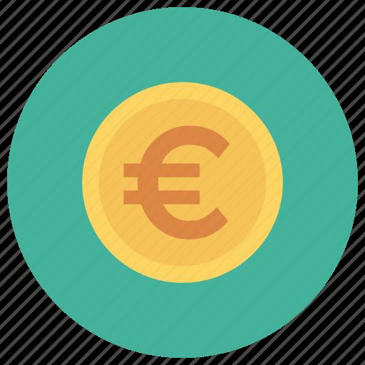currency, euro, eurocoin, euromoney, eurosign, finance, money icon