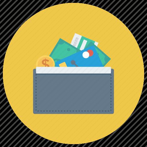 cash, money, openwallet, payment, purse, wallet, womanwallet icon