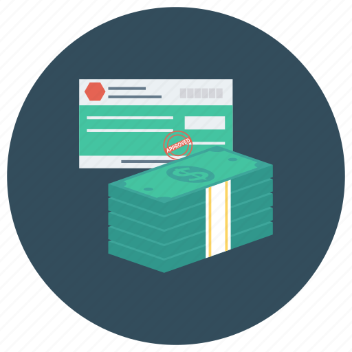 card, cash, cheque, credit, finance, money, payment icon