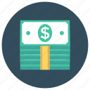bank, cash, currency, dollar, finance, money, ukcash icon
