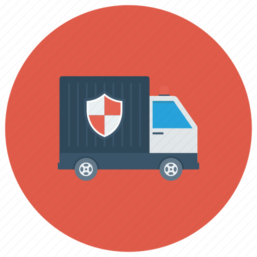 Moneyvan, protection, safety, secure, securityguard, securityvehicle, van icon - Download on Iconfinder