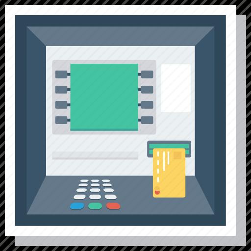 Atm, atmscreen, bank, card, cash, cashmachine, money icon - Download on Iconfinder