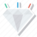 crystal, diamond, diamondshape, jewel, jewelry, ring icon