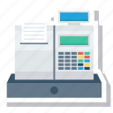 billingmachine, cashregister, detectionsystem, equipment, robotic icon