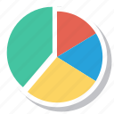 analytics, business, graph, infographics, piechart, statistics icon