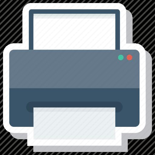 cmyk, computer, computerprinter, copier, pointer, printing, printingpress icon