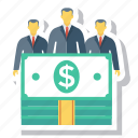 avatar, money, person, profile, salary icon