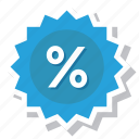 discount, price, sale, sticker, tag icon