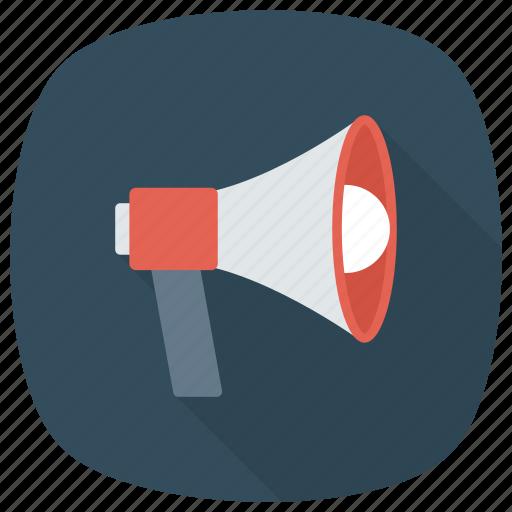 Advertising, announcement, loud, loudspeaker, megaphone, news, speaker icon - Download on Iconfinder