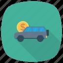 autofinance, automobile, buyingacar, car, carloan, transport, vehicle icon