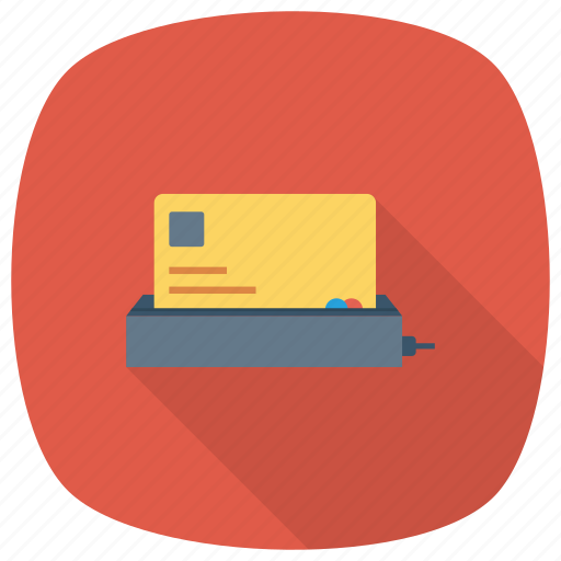 casino, credit, debit, machine, money, payment icon