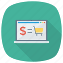 business, ecommerce, online, onlineshopping, shop, shopping, shoppingcart icon