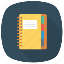 address, addressbook, contact, directory, education, phonebook, reading icon