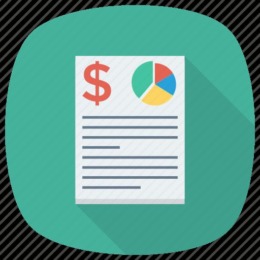 analytics, chart, document, graph, journalist, report, statistics icon