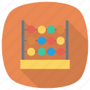 abacus, calculate, calculator, counting, education, math icon