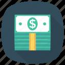 bank, cash, currency, dollar, finance, money, ukcash icon