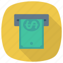 atm, cash, currency, dollar, finance, money, payment icon