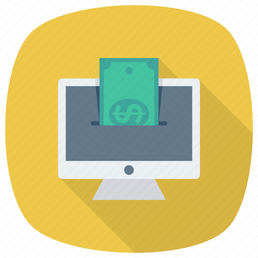cash, finance, money, onlinebanking, payment, payonline, shopping icon