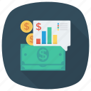 business, chart, finance, money, payment, report icon