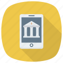 bank, banking, device, mobile, money, phone, smartphone icon