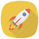 launch, open, rocket, space, spaceship, startup icon