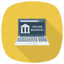 bank, finance, internetbanking, money, online, shopping, web icon