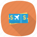 planeticket, ticket, tourism, travel, transport