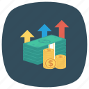 business, chart, finance, money, payment icon